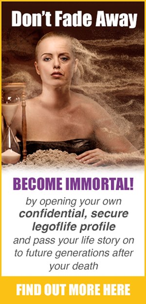 Don't fade away - become immortal!